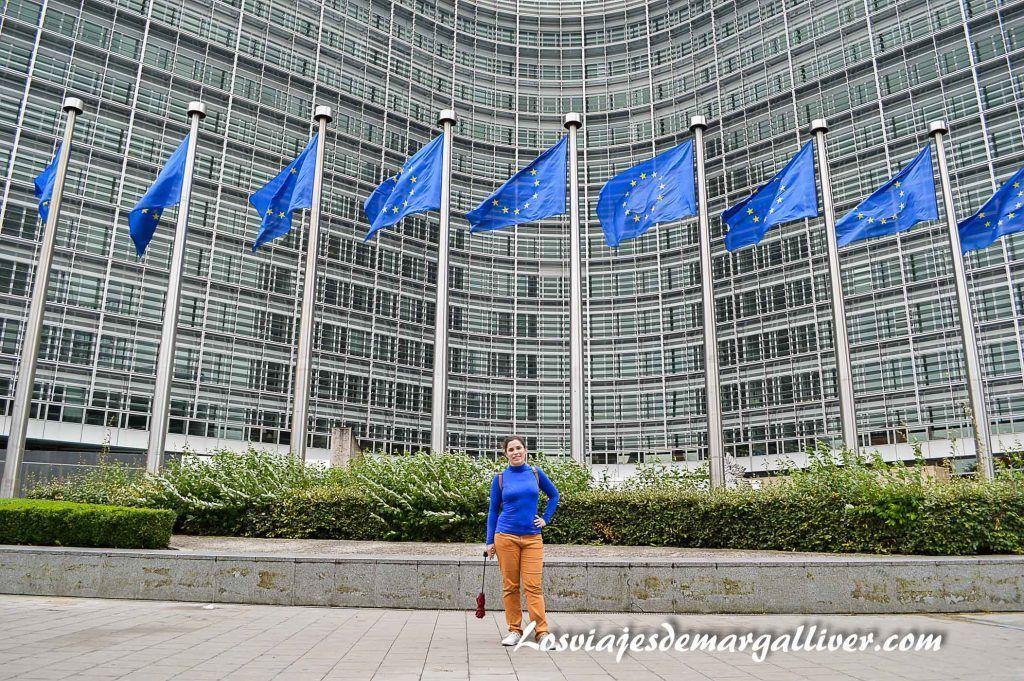 Parlamenteo europeo de Bruselas - Los viajes de Margalliver